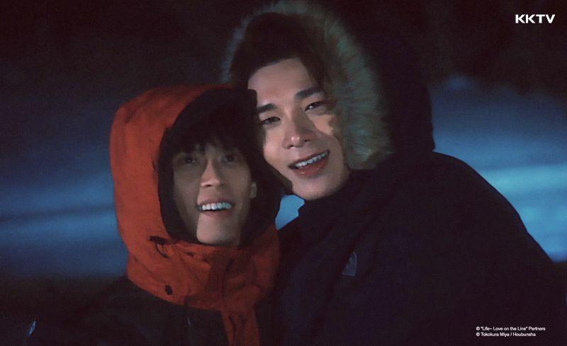 ▲宋偉恩(左)黃雋智特別出演。(圖/KKTV)