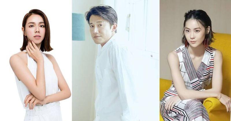▲(左起)夏于喬、吳慷仁、鍾瑶是前男女朋友關係。(圖/台北電影節)