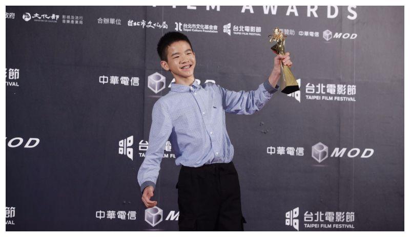 台北電影獎/13歲<b>李英銓</b>打敗大哥哥 勇奪「最佳男配角」