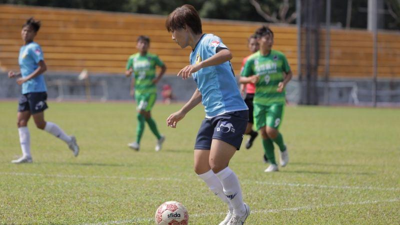 足球/曾淑娥航源首秀 榜首花蓮狂灌5球勝衛冕軍藍鯨