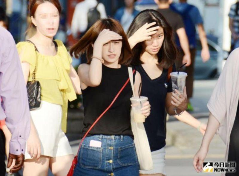 ▲氣象局今(12)針對台北市、新北市,新竹縣、彰化縣、南投縣等12縣市發出橙色、黃色燈號的高溫警示。(示意圖/NOWnews資料照)