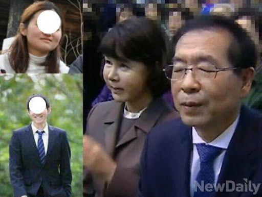 ▲朴元淳市長的兒女因兵役、大學轉系引起爭議。(圖/翻攝自推特)