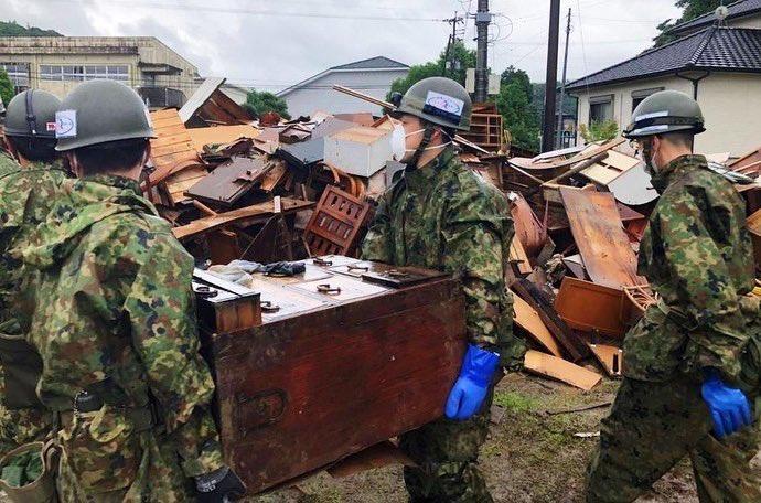 7月豪雨釀災 安倍13日視察熊本縣災區