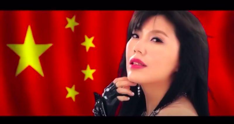 ▲劉樂妍覺得自己作品《CHINA》紅翻天。(圖/劉樂妍微博)