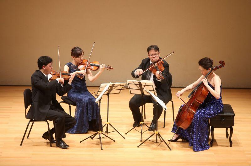 奇美樂展「貝多芬音樂節」Infinite首席四重奏