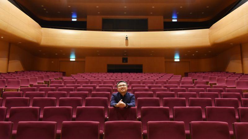 ▲圖為奇美樂展「貝多芬音樂節」策劃人呂岱衛(圖/記者林怡孜摄,2020,07,13)