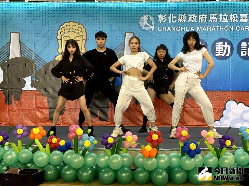 ▲明道大學熱舞社以活力四射的舞蹈為活動揭開序幕。(圖/記者陳雅芳攝,2020.07.13)