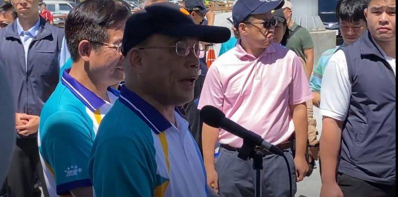 行政院長蘇貞昌回應高雄、台南兩市警局長被拔官一事