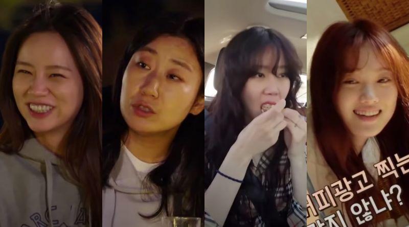 ▲惠利(左起)羅美蘭、孔曉振、李聖經陸續上節目。(圖/tvN