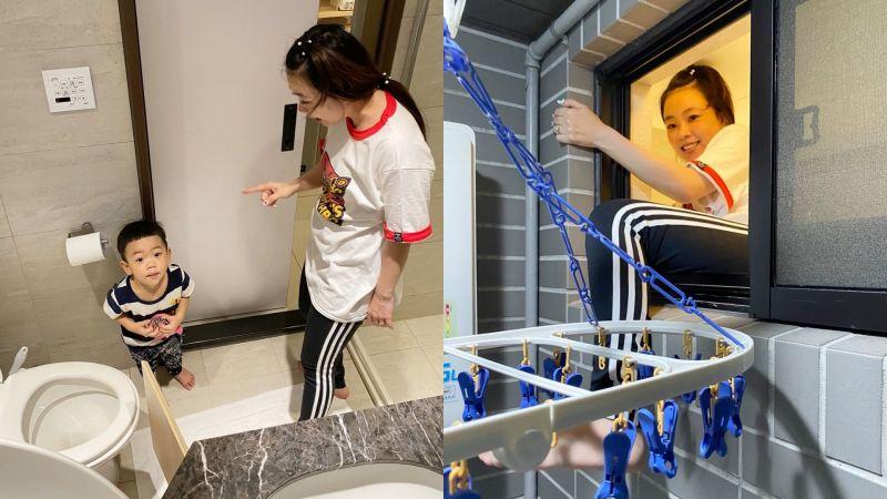 洗澡驚魂!蔡桃貴獨自反鎖浴室 二伯為母則強爬窗搶救