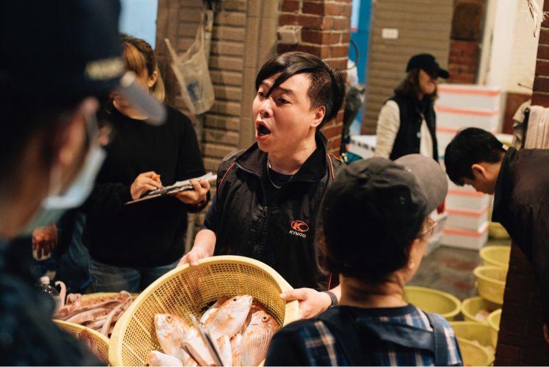 ▲崁仔頂魚市(圖/基隆市政府)