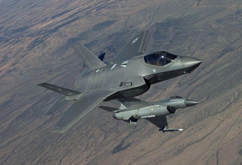 ▲洛克希德馬丁生產的F-35跟F-16戰機,為國際軍火市場熱銷產品。(圖/洛克希德馬丁網站)
