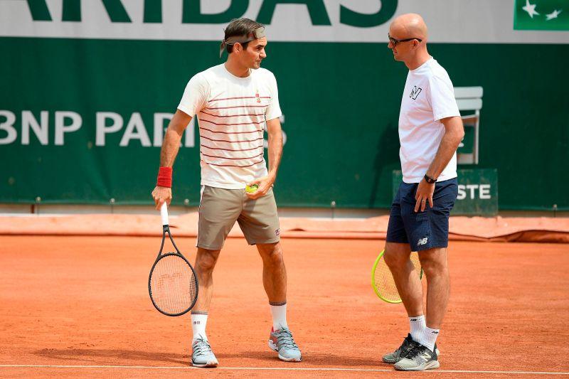 網球/共同進退 留比契奇:費德勒退役我就不當教練了