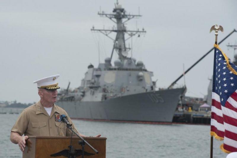 美國斥中國南海主權「不合法」 驅逐艦巡航南海挑戰北京