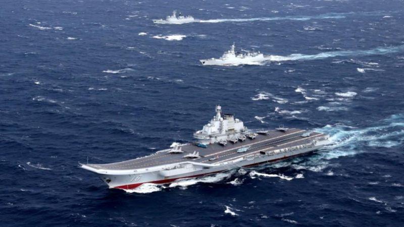 ▲中國海軍遼寧號。(圖/翻攝自