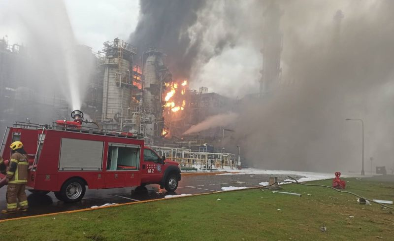<b>台塑</b>六輕塑化廠大火 肇因於操作錯誤引起火災