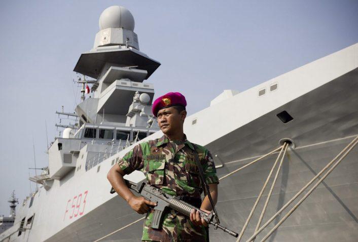 ▲美國國務院日前( 7/13 )首次發表聲明否認中國對南海的主權。( Indonesian Navy )