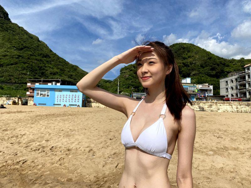 ▲胡祖薇坦言最想做的事情就是到海邊躺在陽傘下喝著啤酒。(圖/風雅國際娛樂提供)