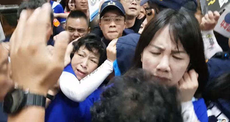 警察擋國民黨立委 林為洲:游錫堃承諾會檢討