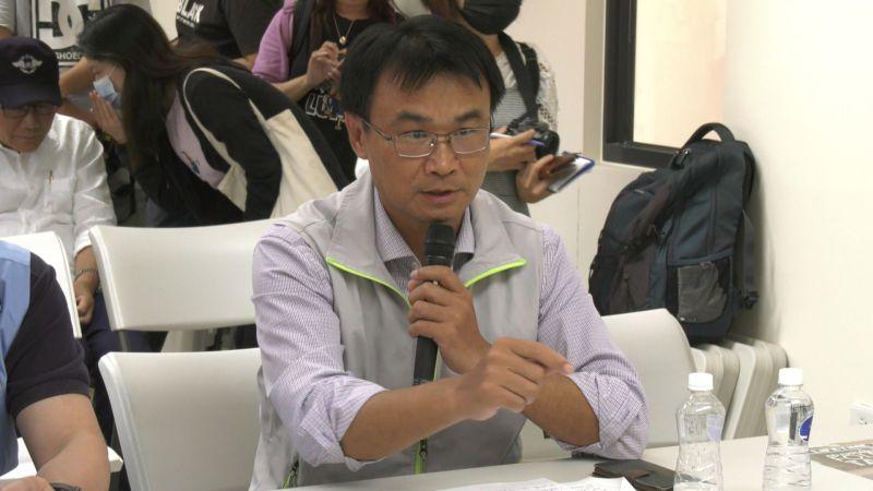 ▲陳吉仲表示,農委會緊急採購的牛結節疹疫苗近期就會運抵台灣。。(圖/記者蔡若喬攝)