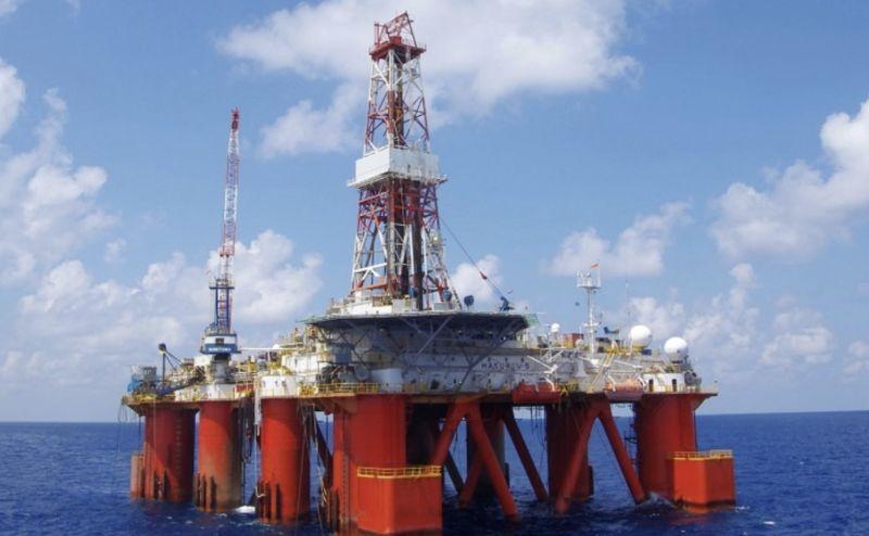 ▲半潛式鑽油平台「HAKURYU-5」。(圖/取自日本JDC官網)