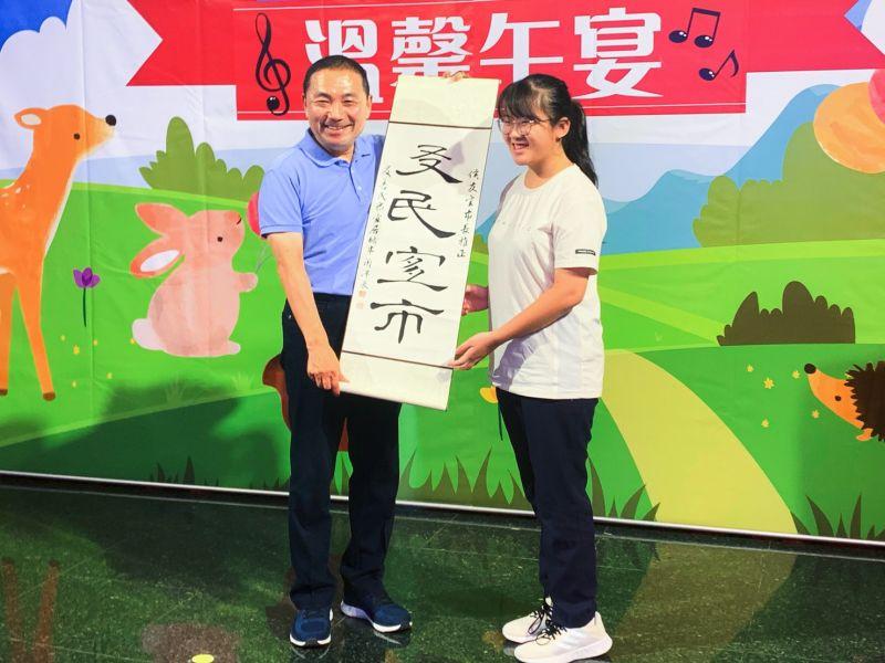 用書法寫出繽紛生命 重慶國中周沛辰勇奪2020<b>總統教育獎</b>