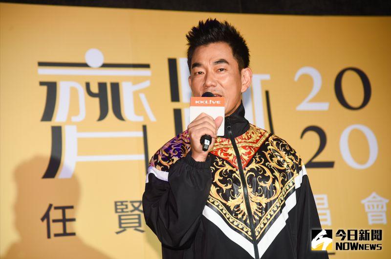 ▲任賢齊演唱會記者會。(圖/記者陳明安攝, 2020.07.16)