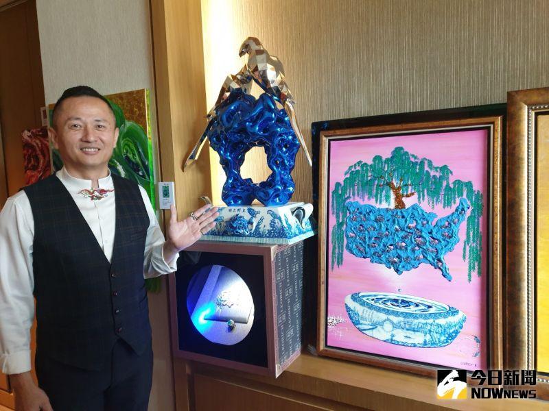 第八屆台中藝博會今登場 珠寶設計師廖文良跨界逆襲