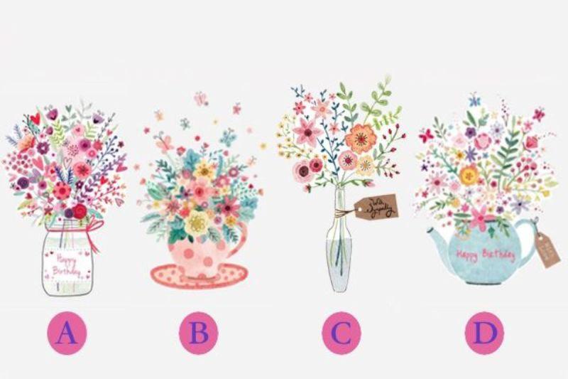 ▲直覺選出最喜歡的花瓶!(圖/翻攝自