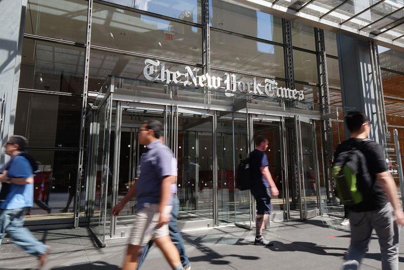 ▲紐約時報計畫將香港辦公室的部分人力轉移至韓國首爾。(圖/翻攝自《香港 01 》)