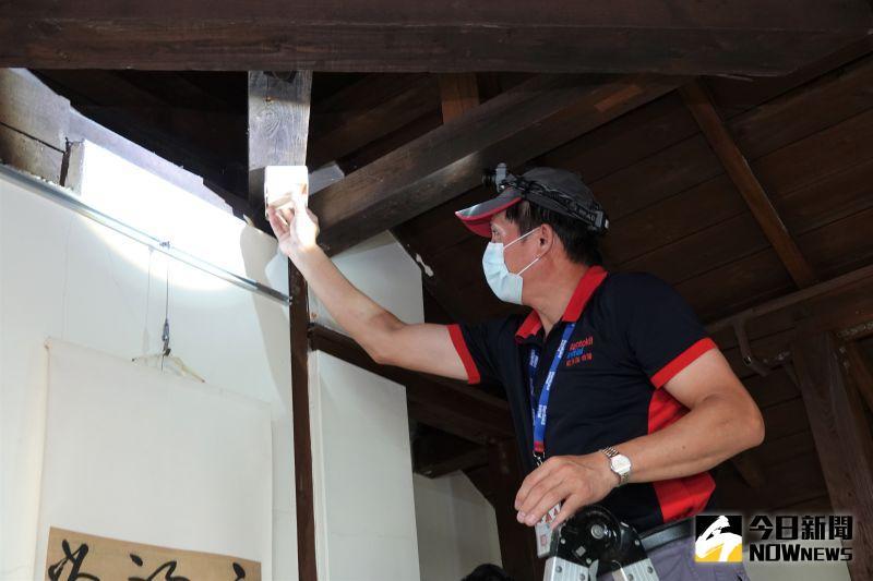 影/對抗白蟻大作戰 保護鹿港老街區清代木造建築