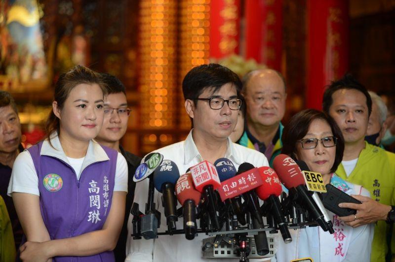超前產業布署 陳其邁:科技大廠到高雄設廠是我邀請的