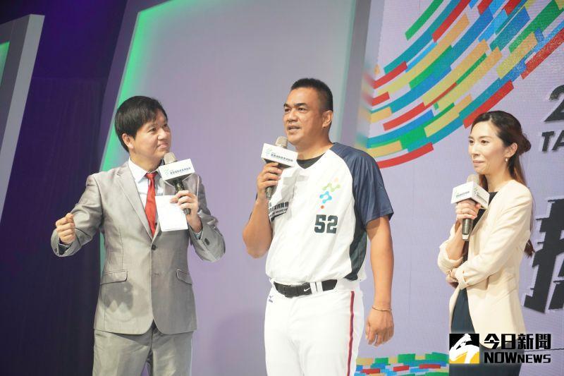 中職/傳遞52精神!運動產業博覽會開幕 陳金鋒親臨響應