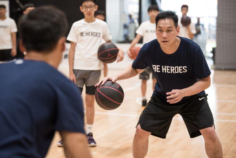 ▲「2020 BE HEROES未來英雄籃球訓練營」,教練陳世念。(圖/主辦單位提供)