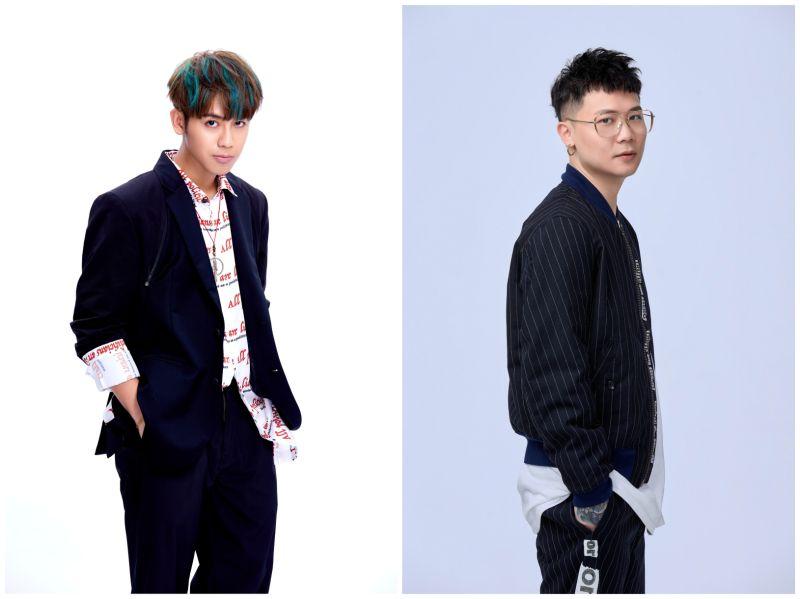 ▲鼓鼓(左圖)、蕭秉治將參與在台北流行音樂中心舉辦的「北流來襲PUNCH不斷電」。(圖/相信音樂提供)