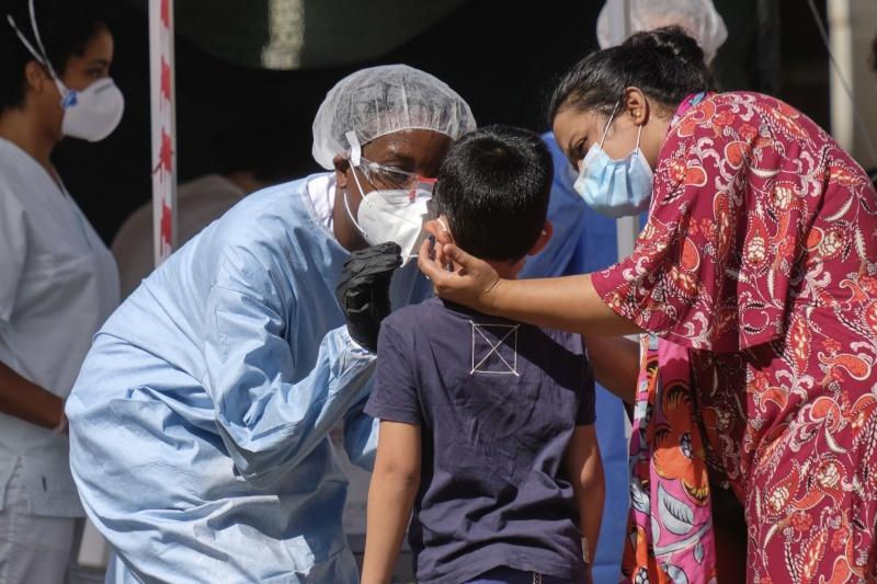 ▲自中國爆發的2019新型冠狀病毒(