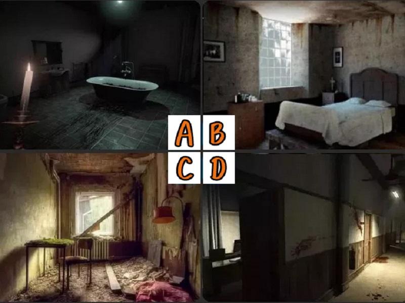 神準!最不敢睡哪間房間?一秒測出你內心深處的「魔障」
