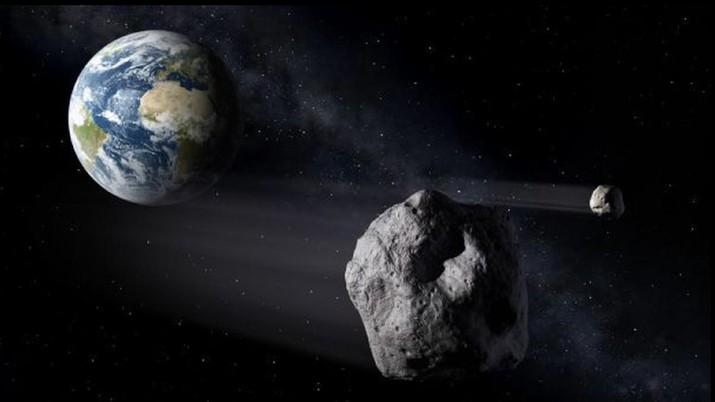▲小行星「 Asteroid 2020 ND 」將在 7/24 最靠近地球。(圖/翻攝自 NASA )