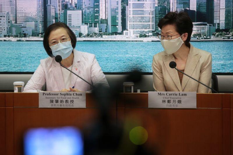 ▲香港近日爆發第三波新型冠狀病毒疫情,今日(7/19)共新增108例。(圖/翻攝自《香港 01 》)