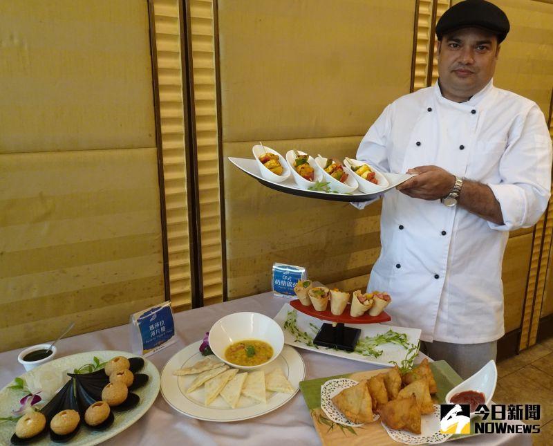 ▲來自印度的Joshi出任聖華宮客座主廚,推出一系列夏季印度料理,帶給饕客不一樣的味蕾體驗。(圖/金武鳳攝,2020.7.20)