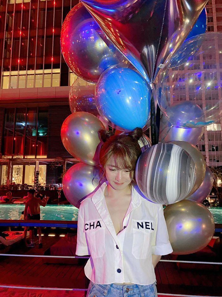 ▲瑤瑤慶祝30歲生日,分享收到的小飛象蛋糕。(圖/瑤瑤臉書)