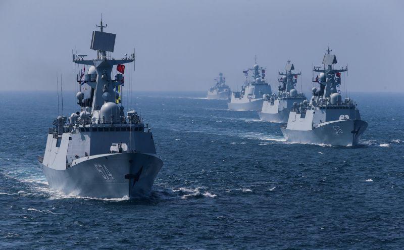 中共建政國慶前夕   解放軍再於4大海域同時軍演