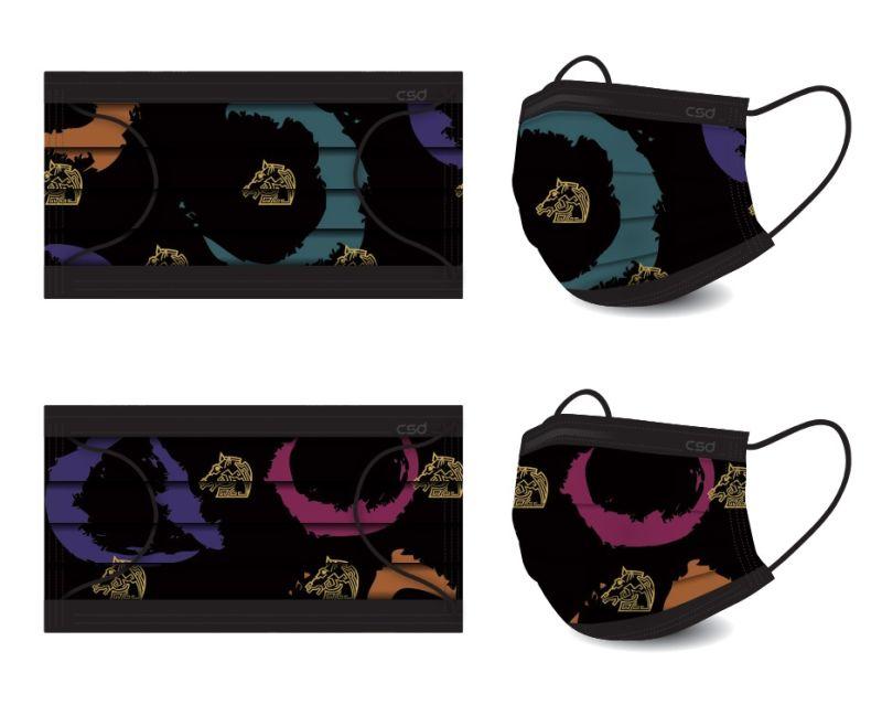 ▲金馬中衛聯名口罩採用最新數位印刷技術製作。(圖/金馬執委會提供)