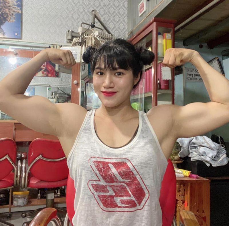 越南肌肉女