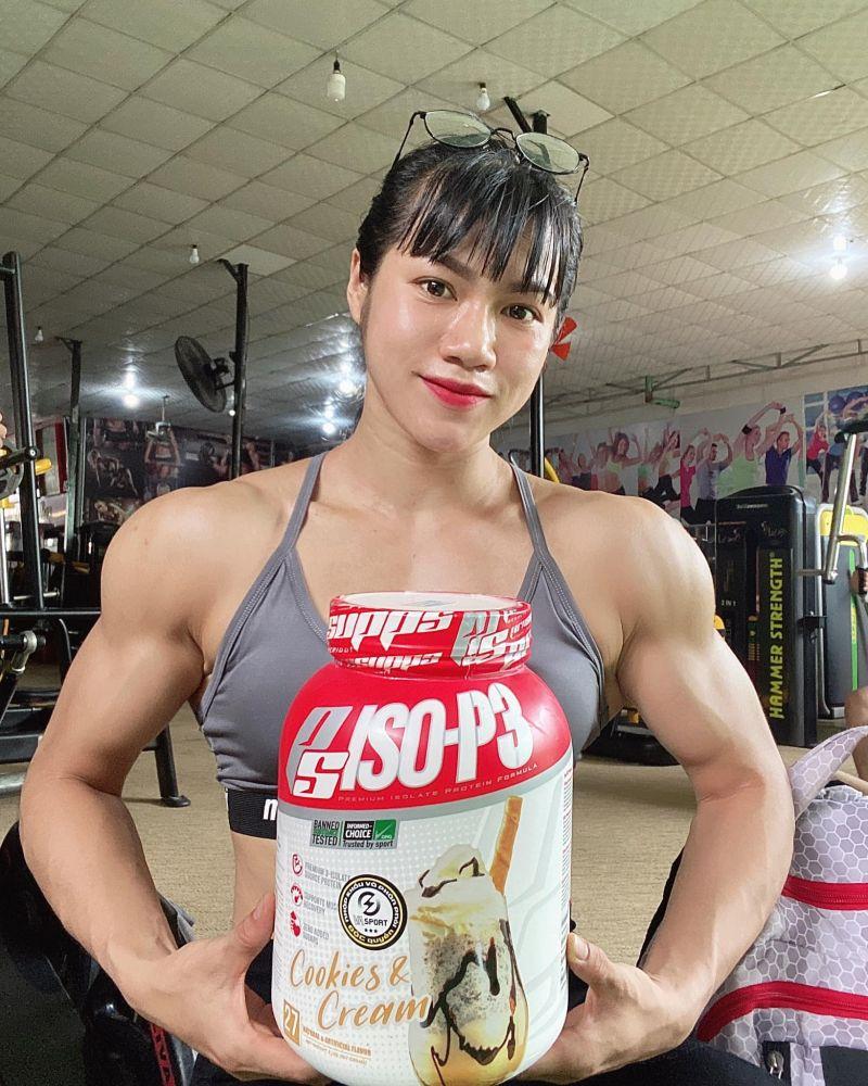 ▲在2017年一次偶然間,她在電視上看見一場職業健美比賽,被運動員精壯的身形曲線所迷住,這才開始真正愛上健身。(圖/翻攝自臉書)