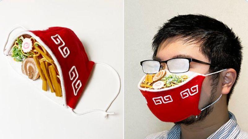 日本發明超吸睛口罩 網友直言看到會肚子餓