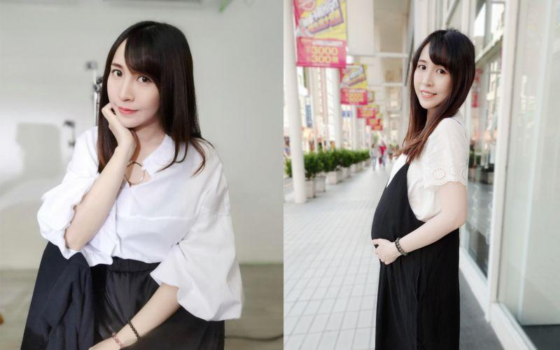 <b>鄉民女神</b>挺8月孕肚險被撞 激動曝驚嚇過程