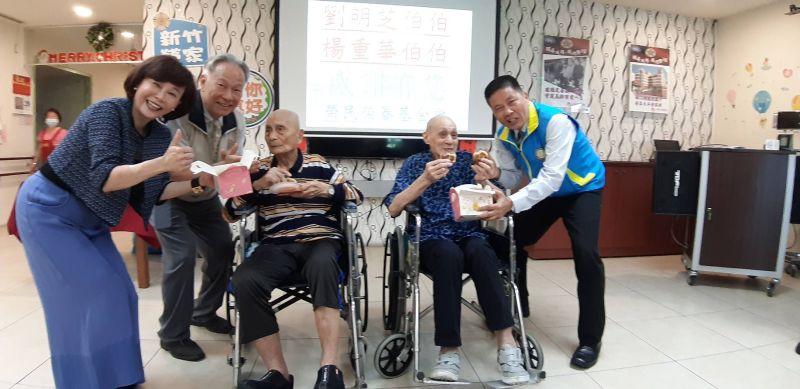 新竹榮家90餘歲兩榮民  立遺囑捐出千萬做公益