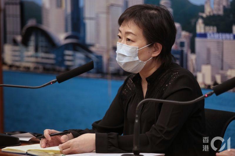 ▲香港衛生署衛生防護中心傳染病處主任張竹君。(圖/翻攝自《香港