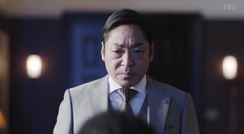 ▲香川照之劇中自創新的座右銘,掀起討論。(圖/翻攝TBS)